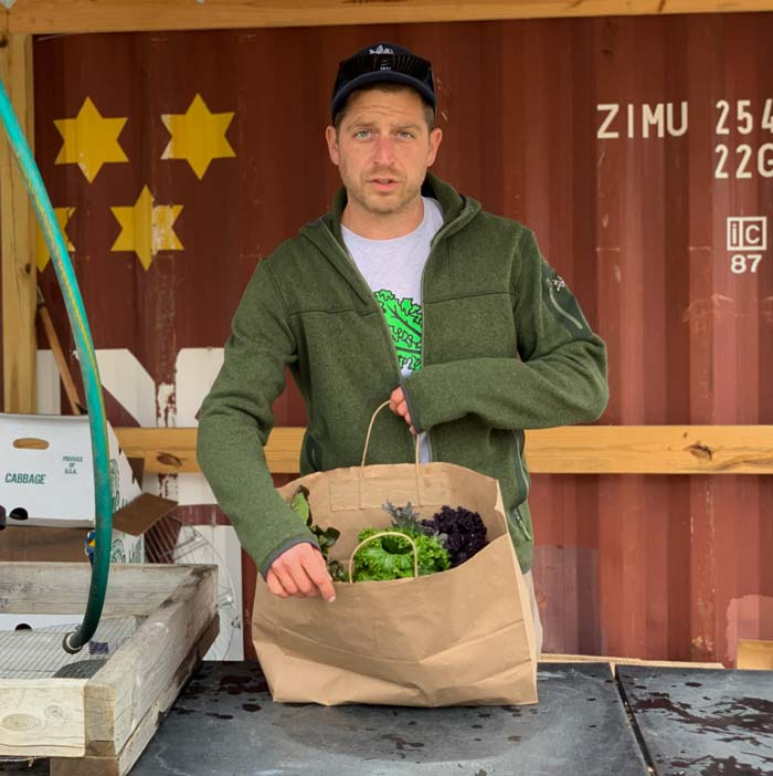 Cheers to small regenerative farmers like Chris Miller and to the people and communities who support them!