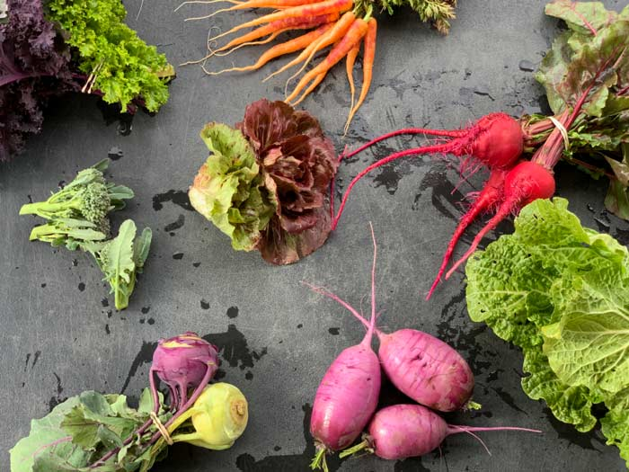 Does your small farm have the crop diversity needed to keep things interesting for your customers or do you need to team up with other local farms to make that possible?