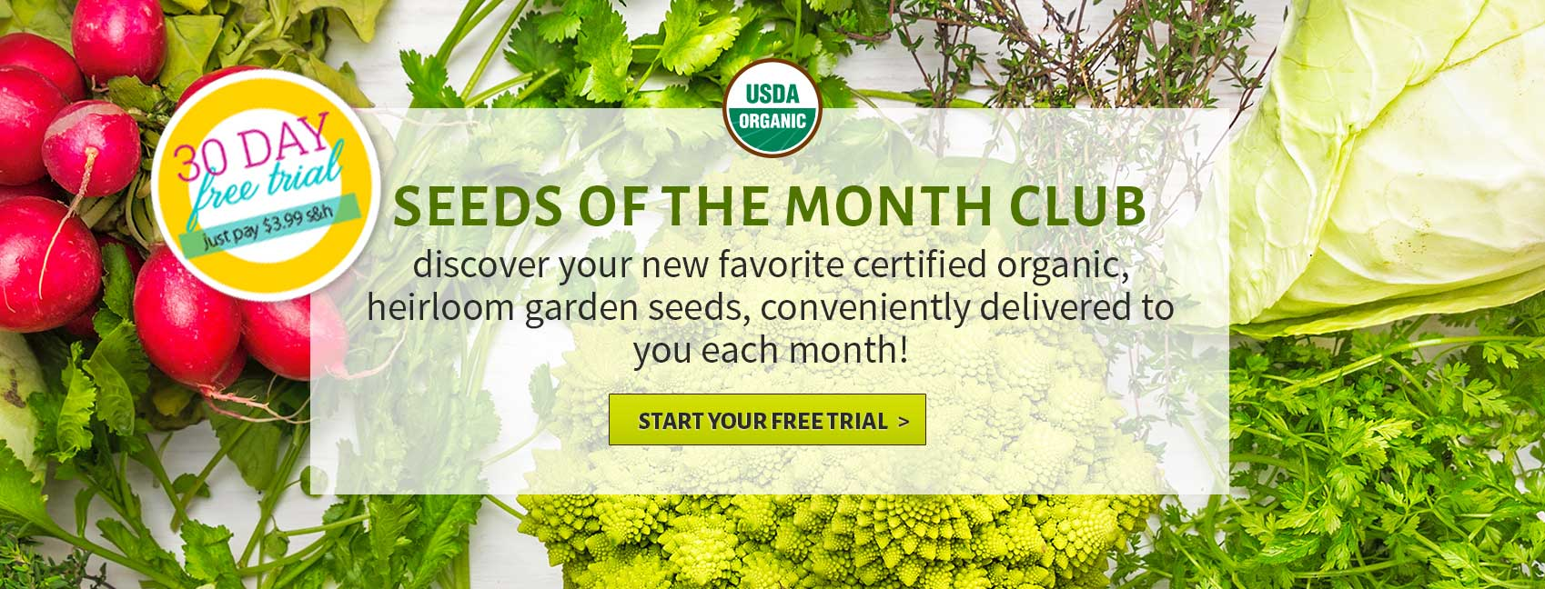 GrowJourney U2013 Seeds Of The Month Club U2013 We Make Organic Gardening Simple.  Certified Organic Heirloom Garden Seeds + Expert Organic Growing  Instructions ...