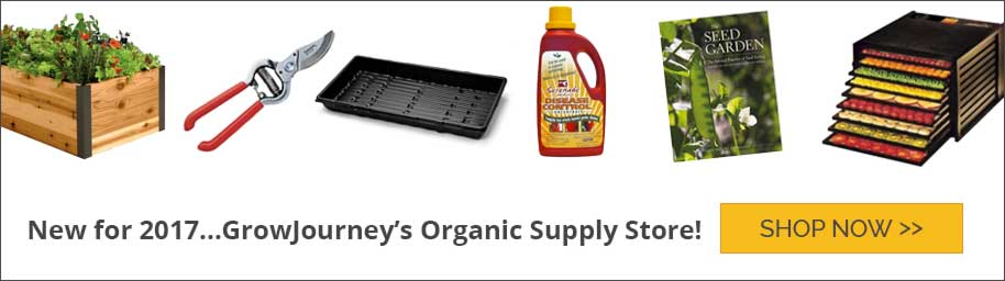 GrowJourney Organic Gardening Supply Store